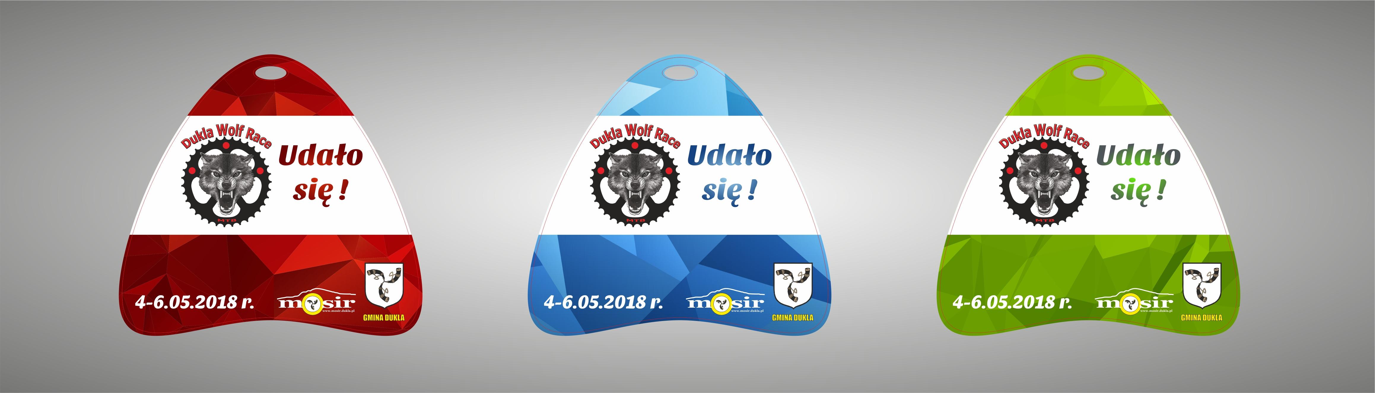 Medale Dukla Wolf Race