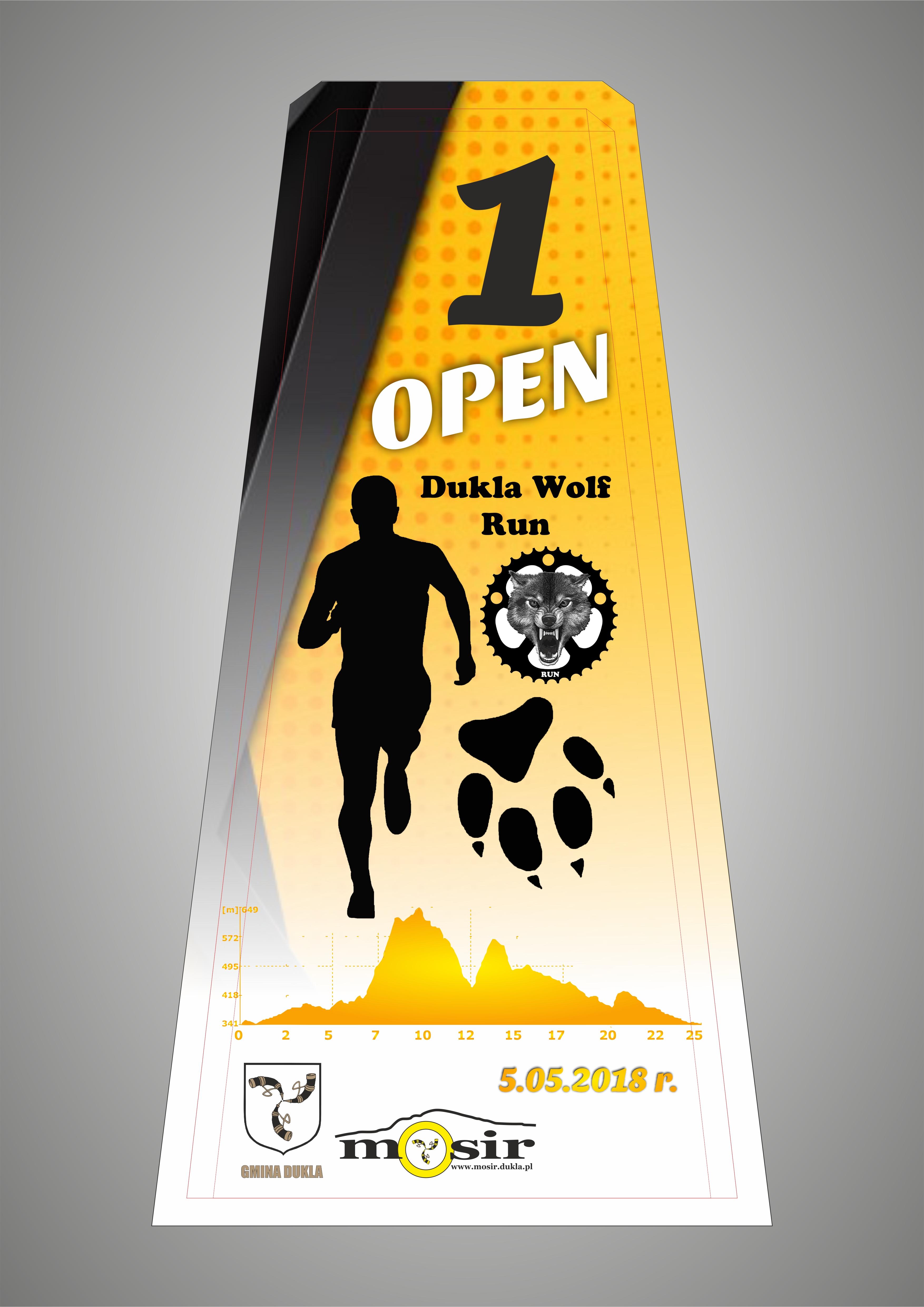 Statuetka Dukla Wolf Run